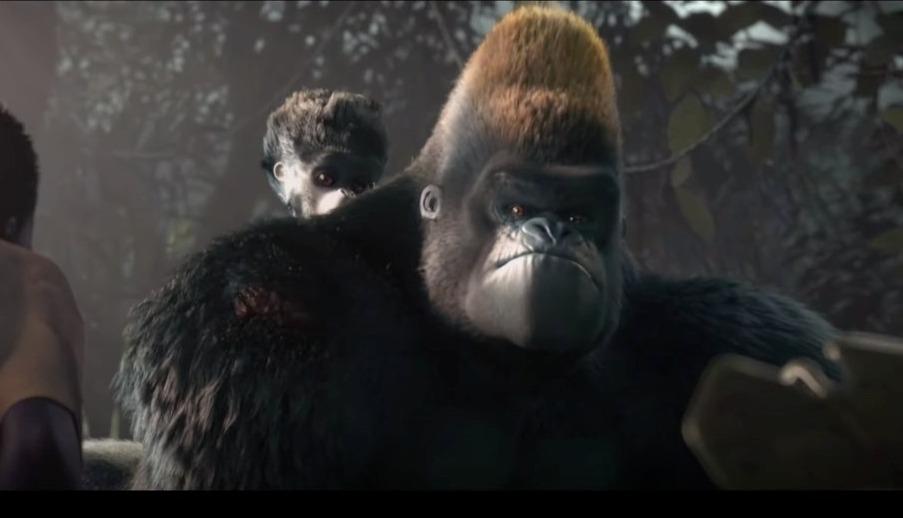 Liyoki Court métrage ESMA touchant sur des Gorilles
