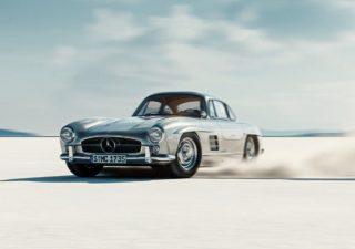 WOW : Gullwing - animation 3D  d'une Mercedes-Benz 300SL 1