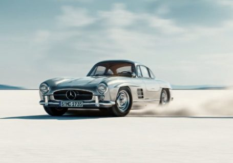 WOW : Gullwing - animation 3D d'une Mercedes-Benz 300SL 1