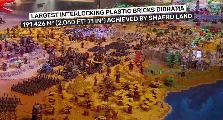Guinness World Records de la plus grande construction LEGO 2