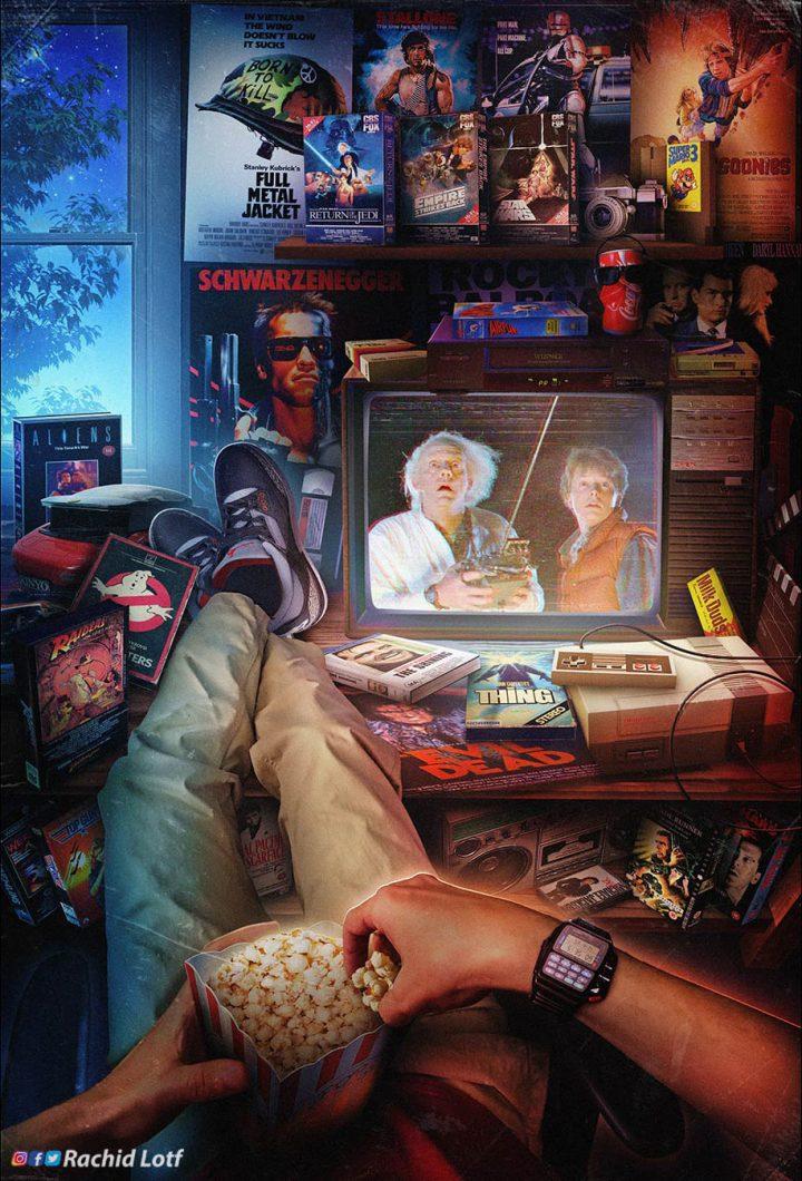 Beaux posters rétro des années 80 - 90 : Coup de coeur 10