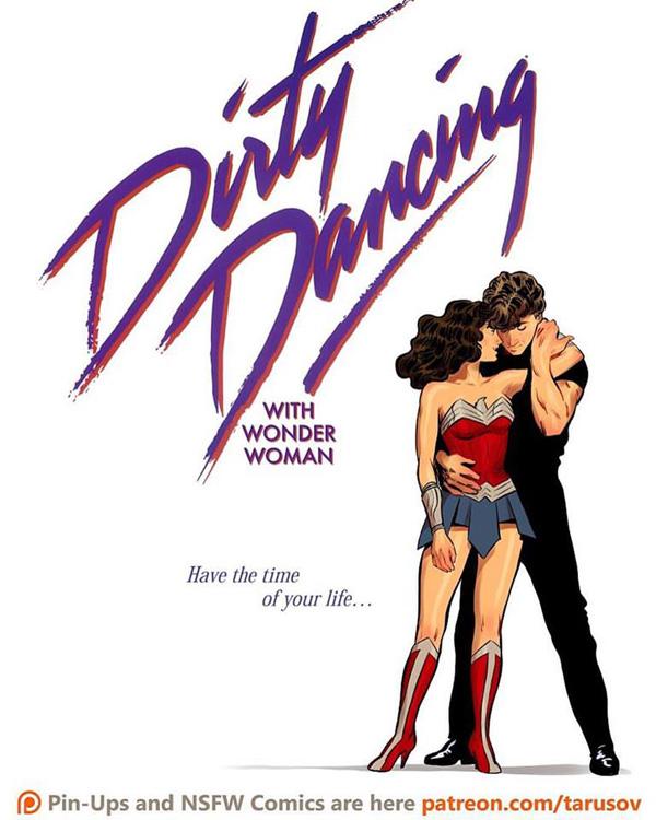 Affiches de films des années 80/90 réinventées avec des super-héros 5
