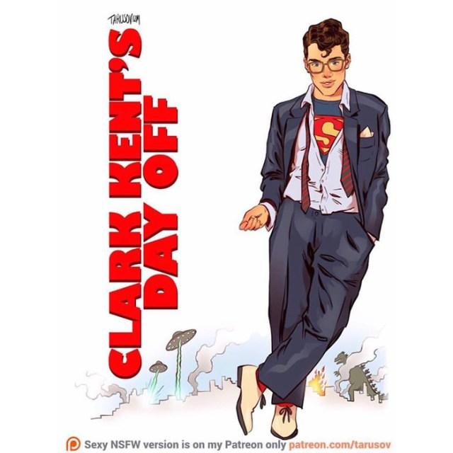 Affiches de films des années 80/90 réinventées avec des super-héros 8