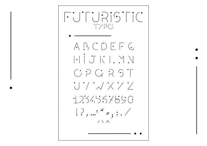 Typographie modulaire : Chouette travail à découvrir 16