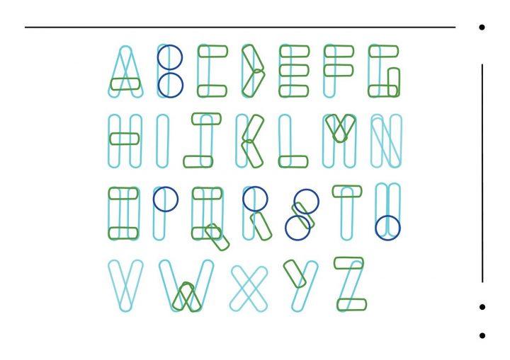 Typographie modulaire : Chouette travail à découvrir 7