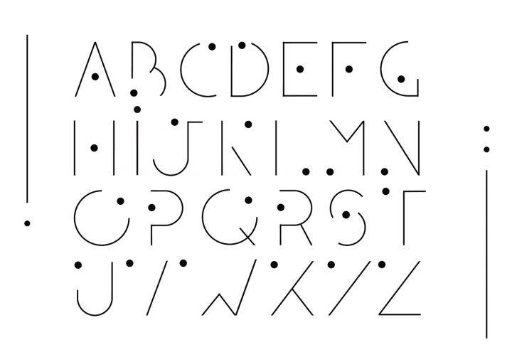 Typographie modulaire : Chouette travail à découvrir 13