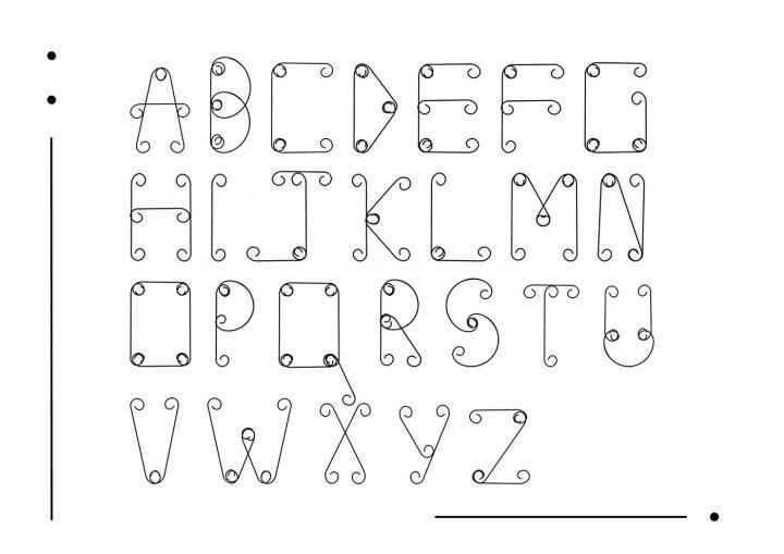 Typographie modulaire : Chouette travail à découvrir 11