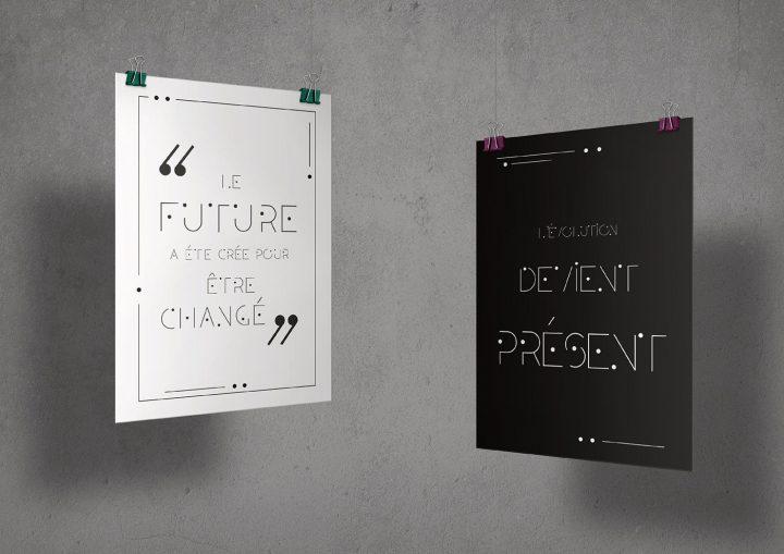 Typographie modulaire : Chouette travail à découvrir 14