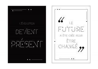Typographie modulaire : Chouette travail à découvrir 1