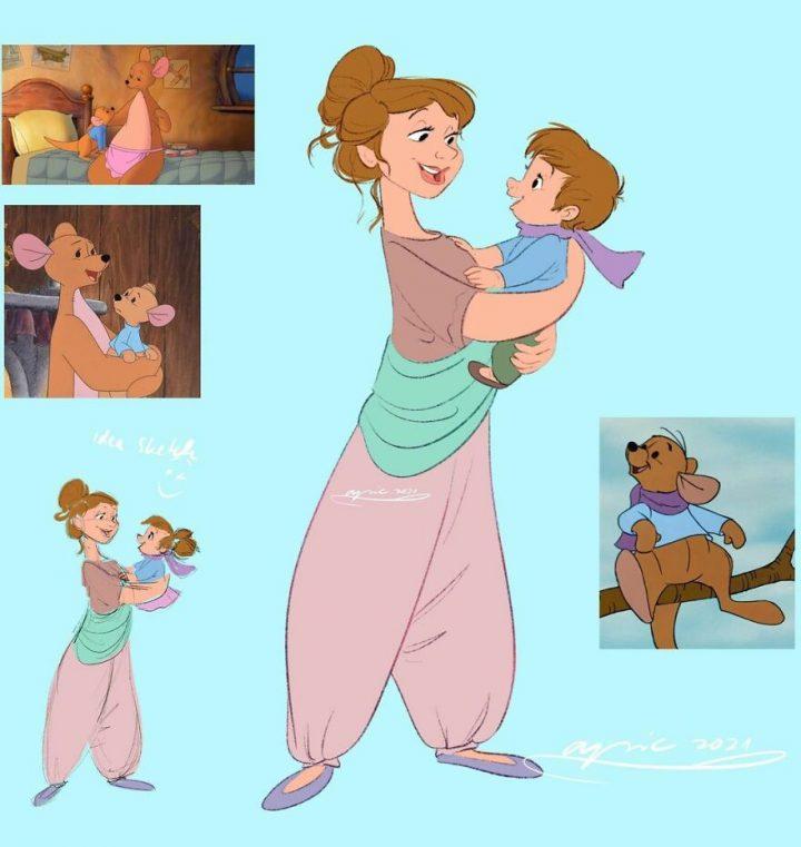 Les animaux Disney en humain et vice-versa 2