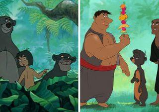 Les animaux Disney en humain et vice-versa