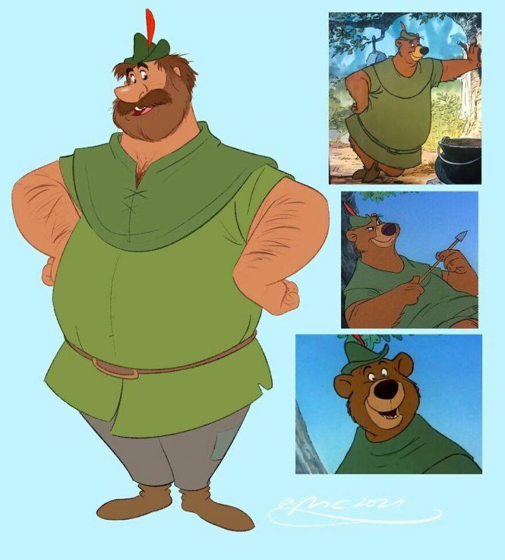 Les animaux Disney en humain et vice-versa 10