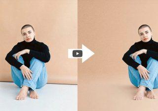Tutorial Photoshop : Créer un arrière plan crédible pour votre personnage 1