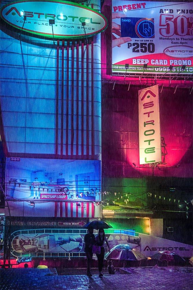 Superbes photos Cyberpunk de Manille aux Philippines 4