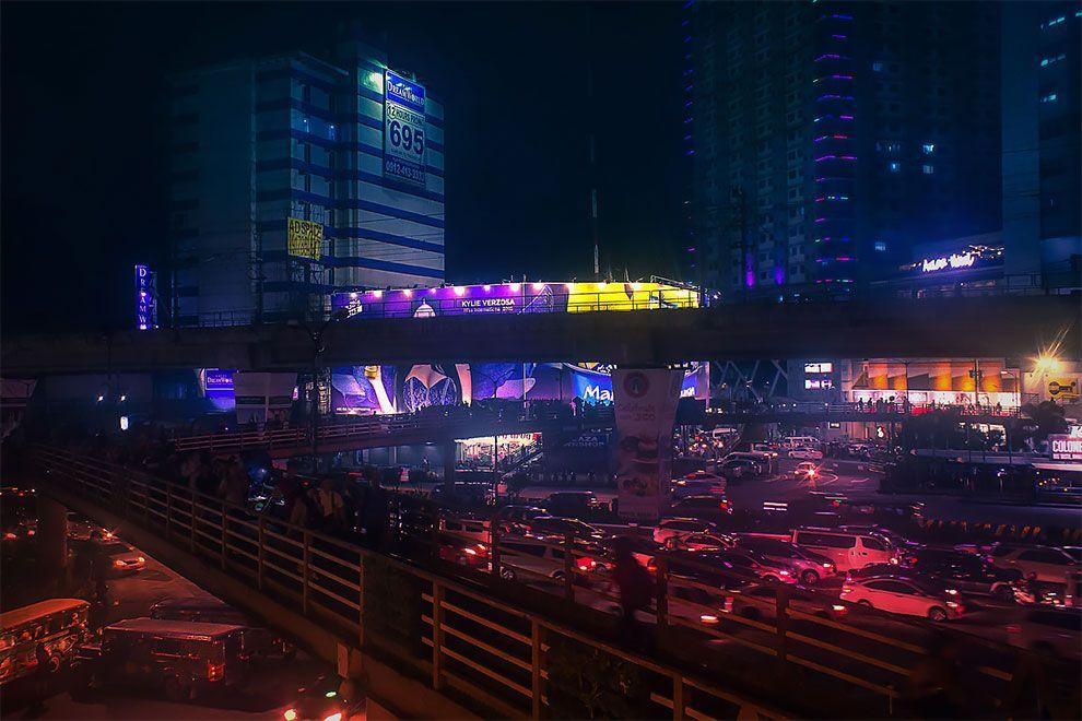 Superbes photos Cyberpunk de Manille aux Philippines 5