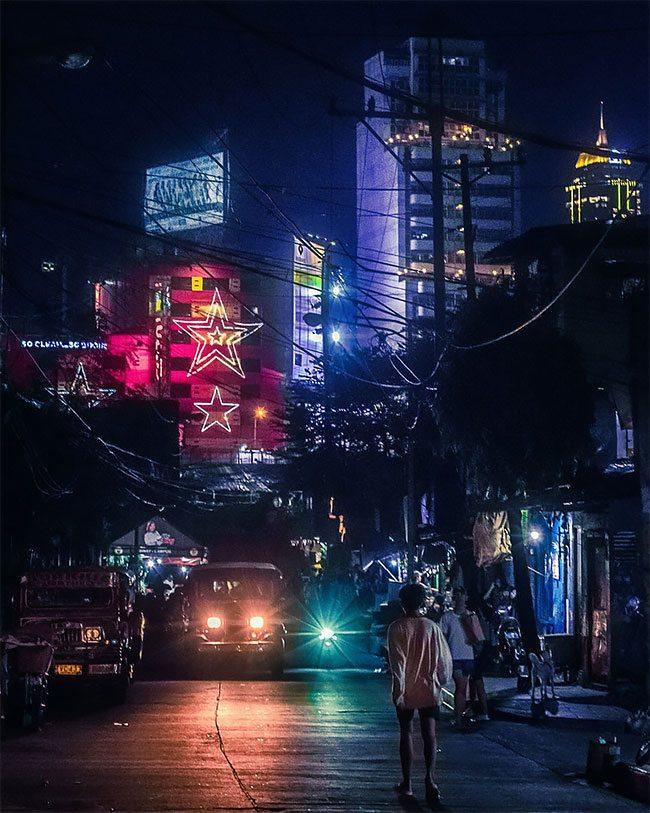 Superbes photos Cyberpunk de Manille aux Philippines 8