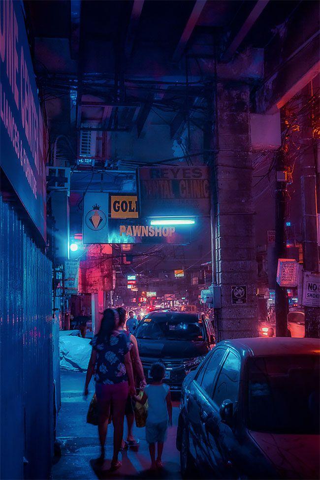 Superbes photos Cyberpunk de Manille aux Philippines 9