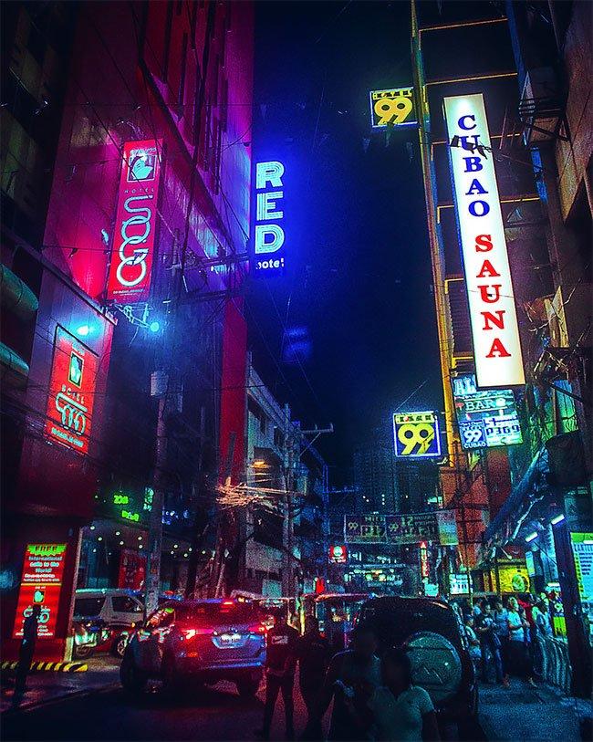 Superbes photos Cyberpunk de Manille aux Philippines 10
