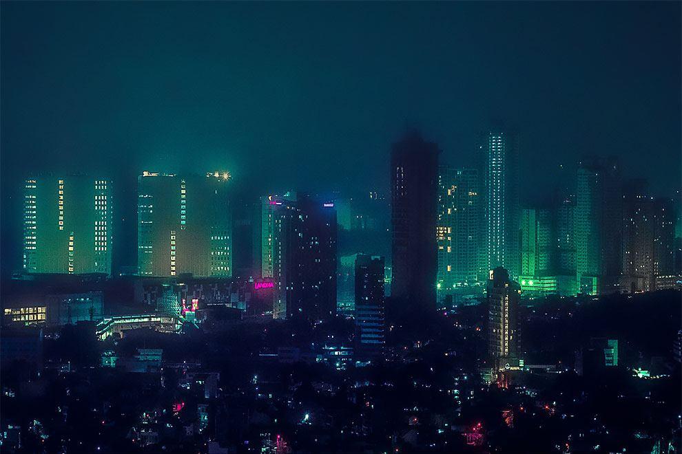 Superbes photos Cyberpunk de Manille aux Philippines 11