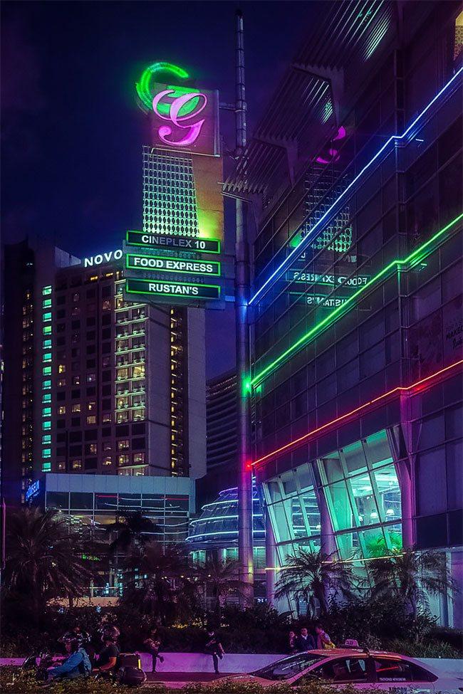 Superbes photos Cyberpunk de Manille aux Philippines 12