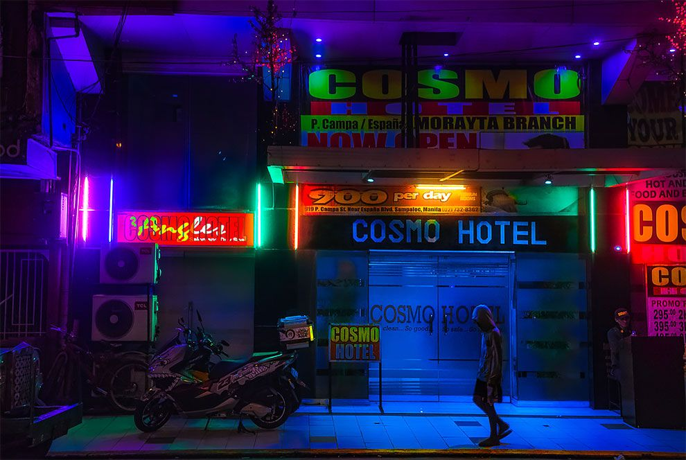 Superbes photos Cyberpunk de Manille aux Philippines 14