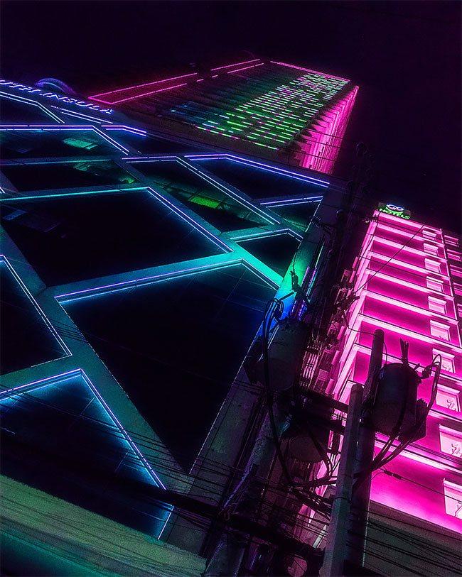Superbes photos Cyberpunk de Manille aux Philippines 15