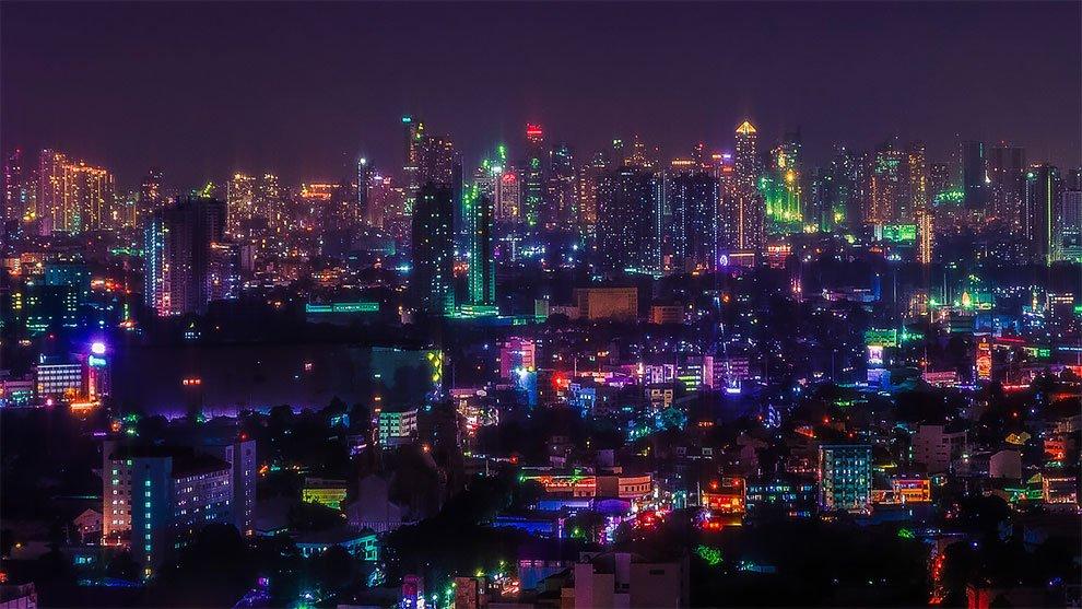 Superbes photos Cyberpunk de Manille aux Philippines 17