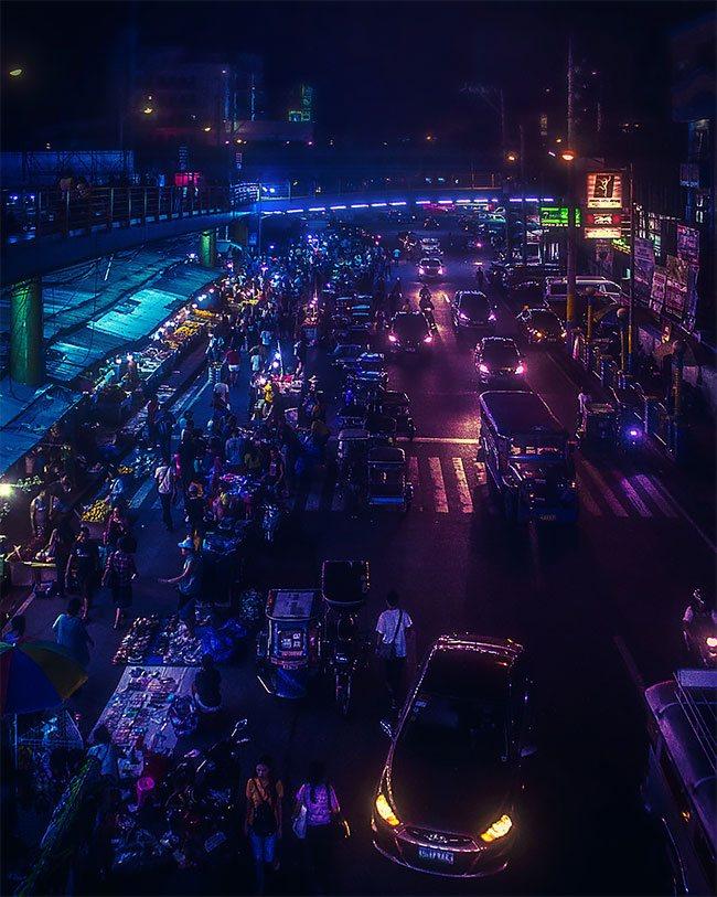 Superbes photos Cyberpunk de Manille aux Philippines 20