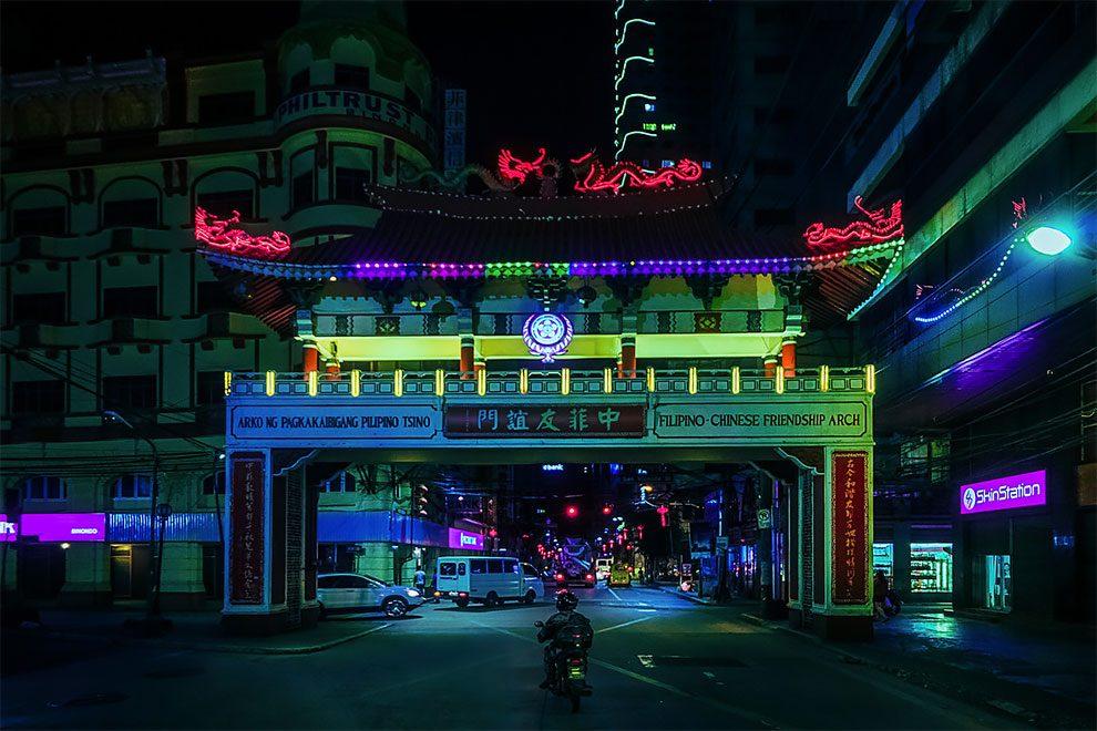 Superbes photos Cyberpunk de Manille aux Philippines 21