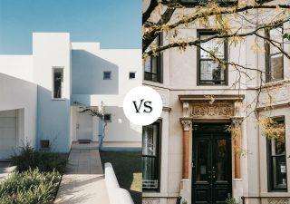 La simplicité de l'architecture moderne