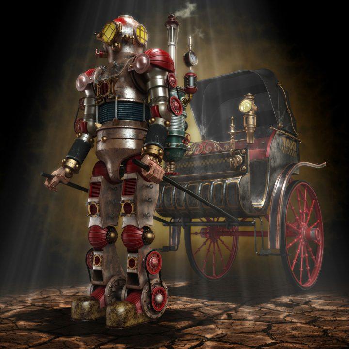 Un monde Steampunk magnifique 5