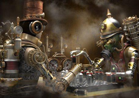 Un monde Steampunk magnifique 1