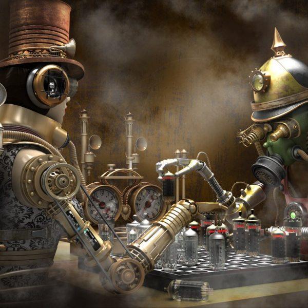 Un monde Steampunk magnifique