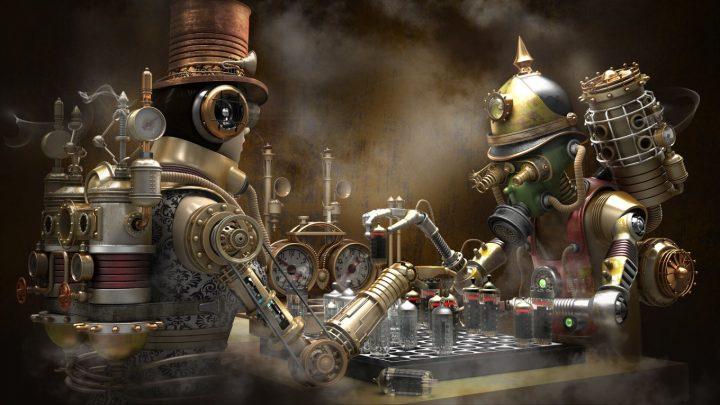 Un monde Steampunk magnifique 6