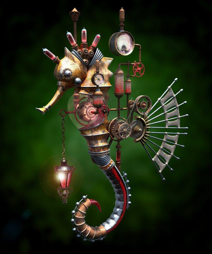 Un monde Steampunk magnifique 8