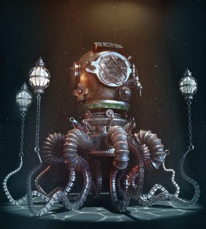 Un monde Steampunk magnifique 9