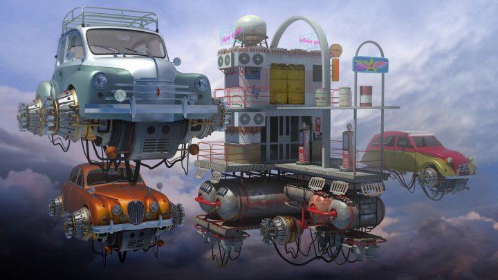 Un monde Steampunk magnifique 11