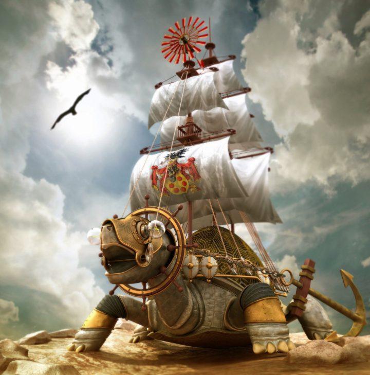Un monde Steampunk magnifique 13