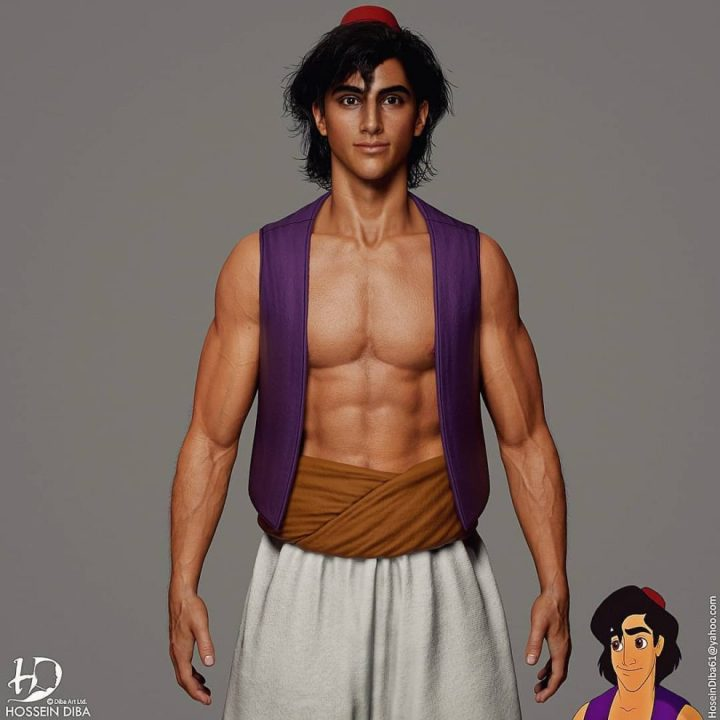Les portraits de vos personnages connus en 3D réaliste 2