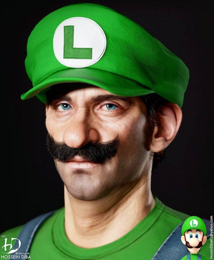 Les portraits de vos personnages connus en 3D réaliste 11