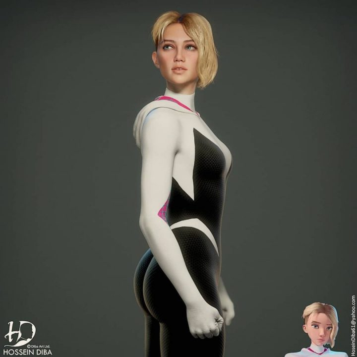 Les portraits de vos personnages connus en 3D réaliste 14