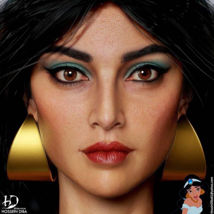 Les portraits de vos personnages connus en 3D réaliste 15