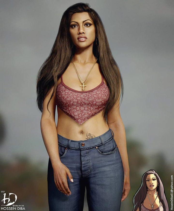 Les portraits de vos personnages connus en 3D réaliste 8