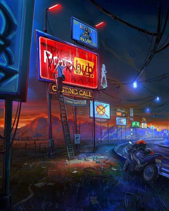 Des illustrations futuristes sombres de Zachary McLean 5