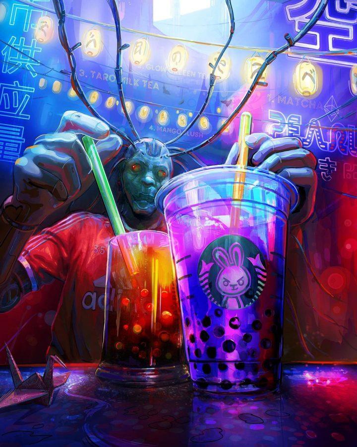Des illustrations futuristes sombres de Zachary McLean 9