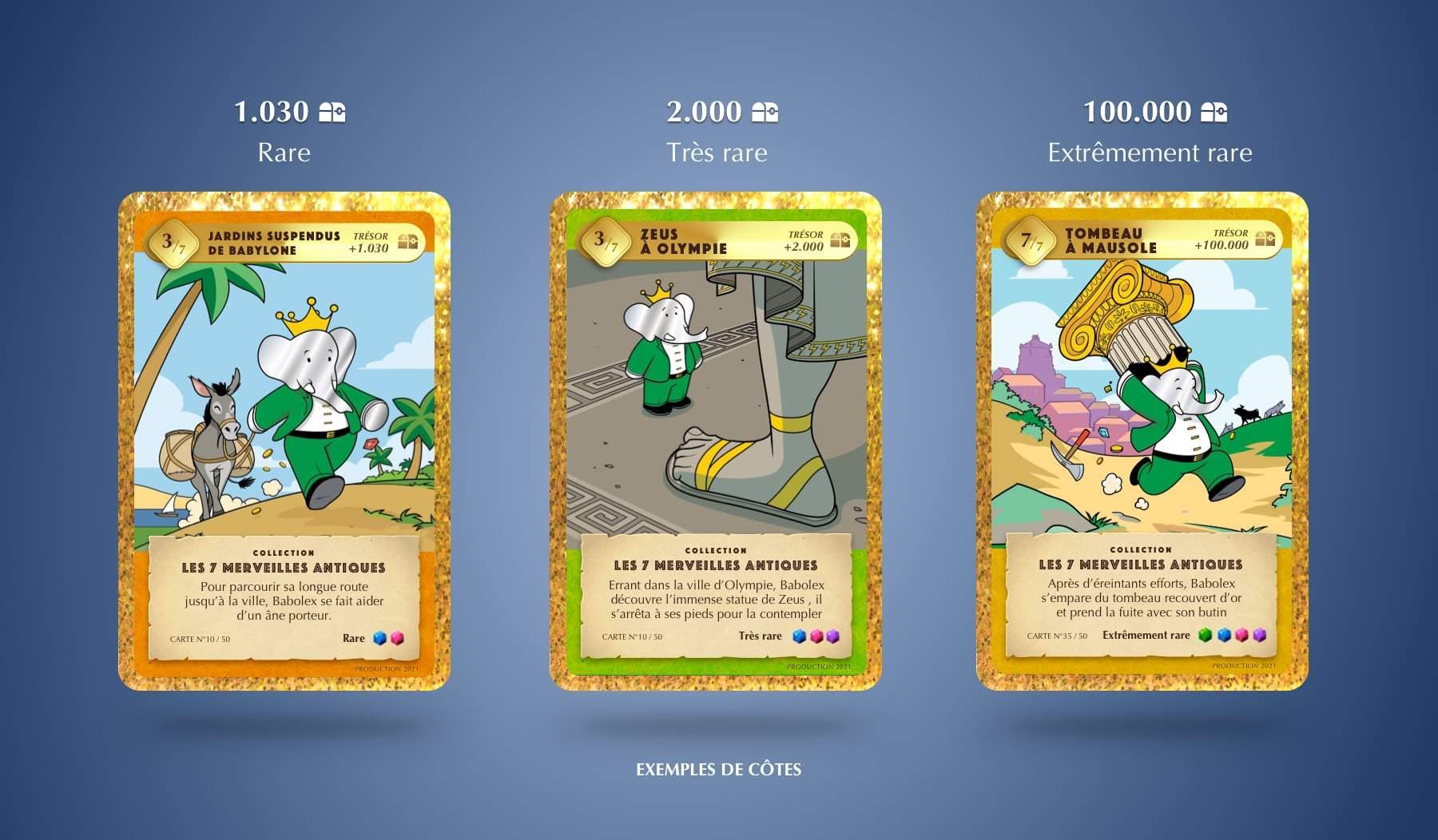 Babolex Card Game : Quand l'art et Babar se rencontrent 3