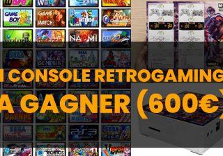 Gagnez une console Retrogaming (valeur 600€) 1
